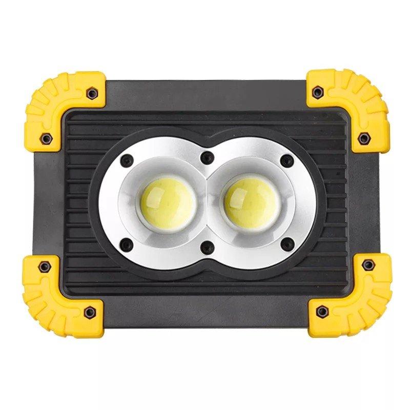 GM11327-1 Waterproof battery Portable COB Flood Lights LED rechargeable work light