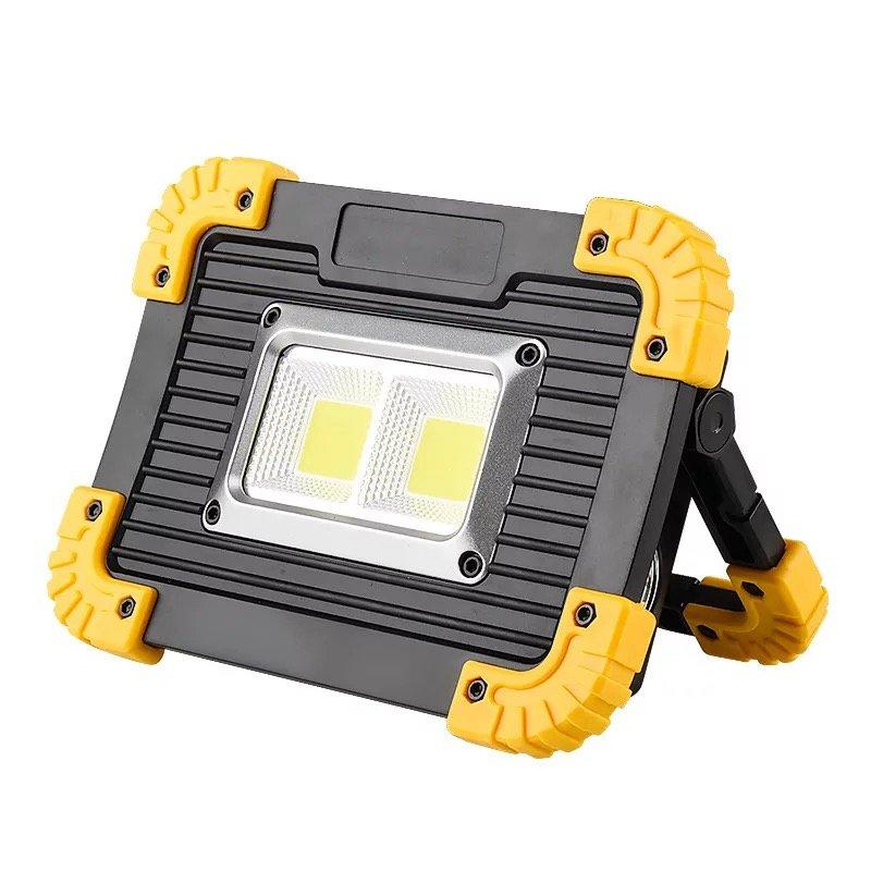 GM11327-2 USB Charging Battery Waterproof Power Bank COB flood rechargeable work light