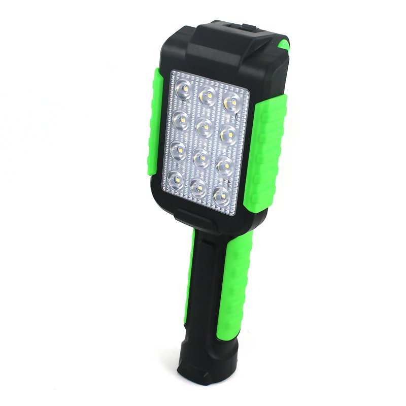 GM11466 collapsible 12LED rechargeable magnetic work light