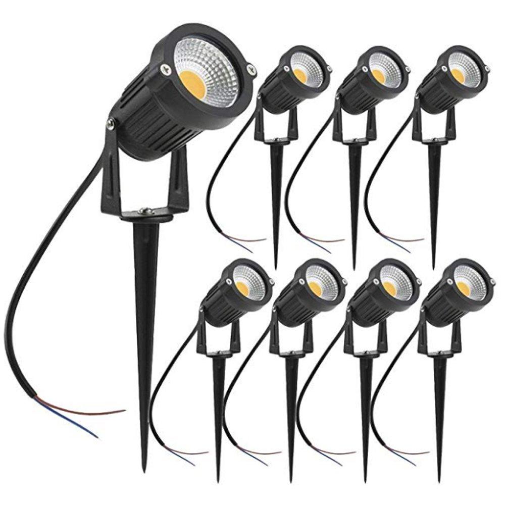gm11283 Ip65 Metal Structure DC12V AC110V 3W 5W 7W LED Waterproof Warm White Landscape waterproof garden lights