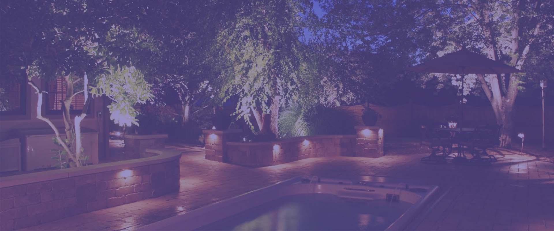 waterproof garden lights